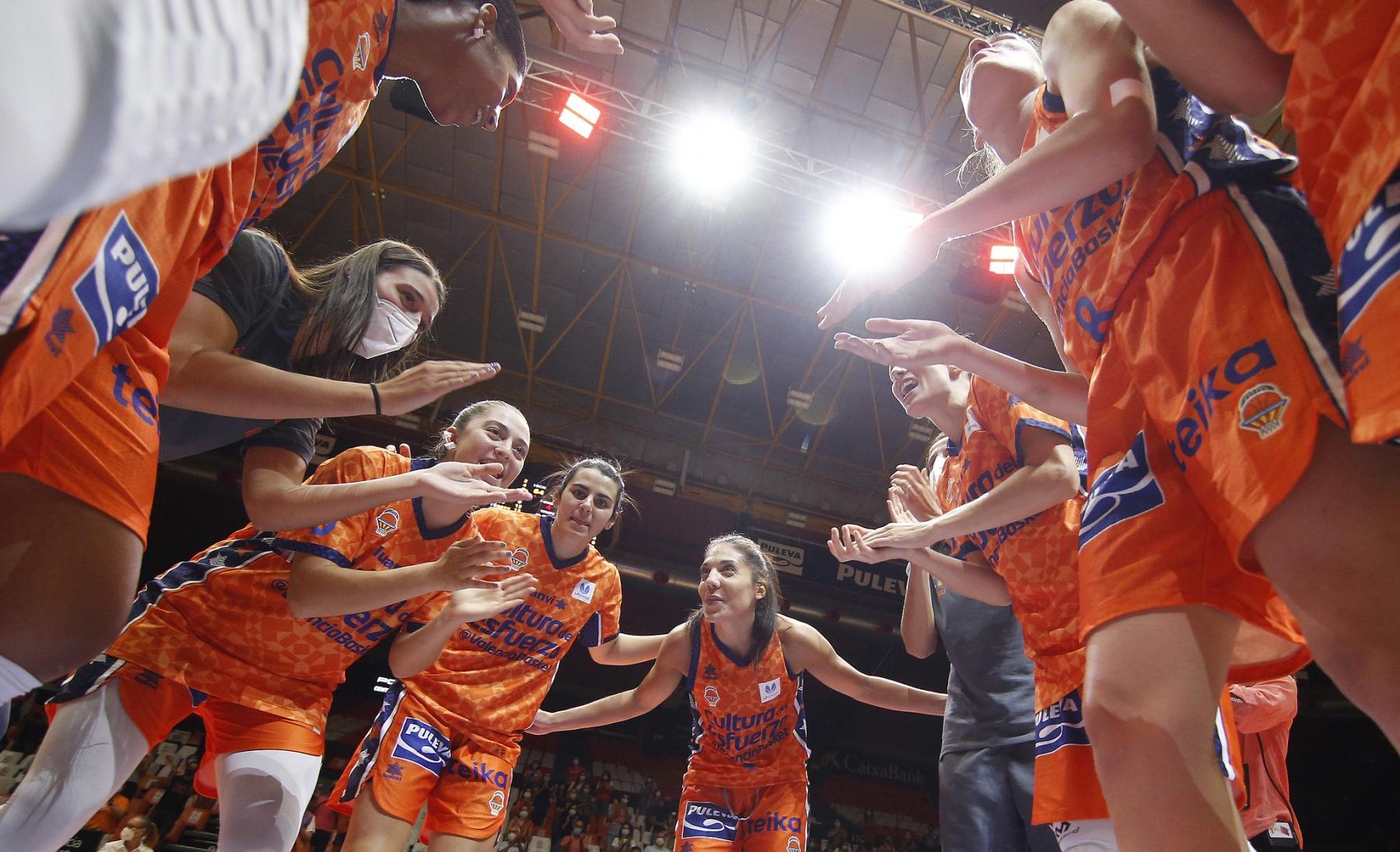 Resultado de imagen de valencia basket femenino