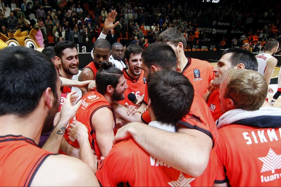 Calendario Eurocup.Valencia Basket Club